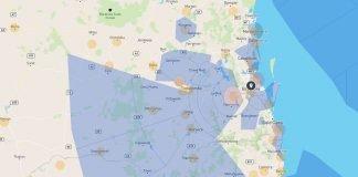 AirMap map