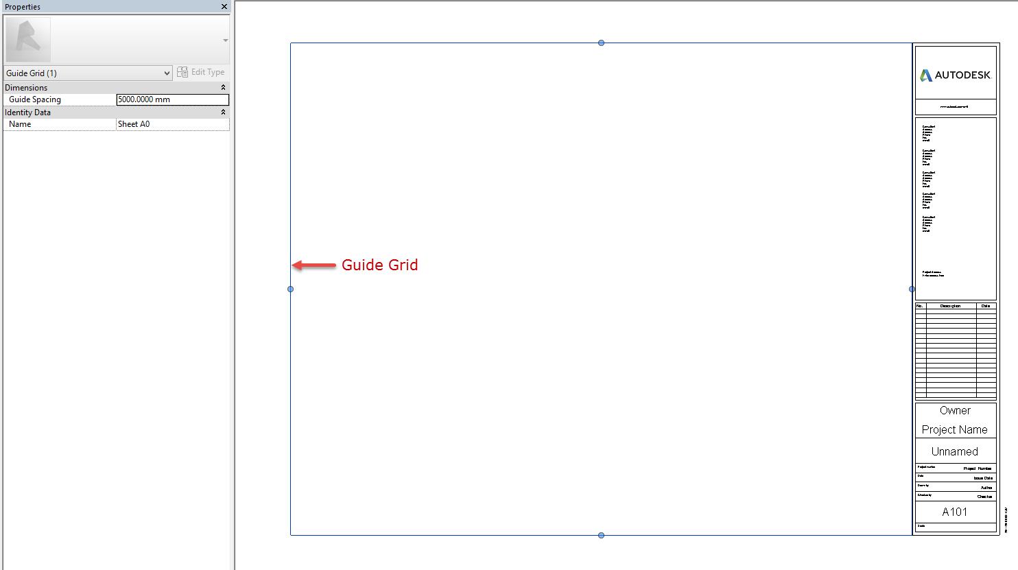 titleblock-guidegrid