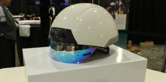 DAQRI smart helmet on box