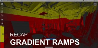 ReCap gradient ramps
