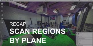 ReCap scan regions by plane