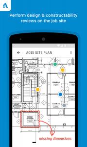 Autodesk BIM 360 Docs Android Markups