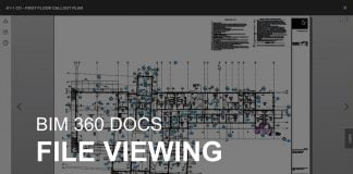 BIM 360 Docs File Viewing