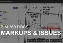 BIM 360 Docs Markups & Issues