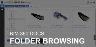 BIM 360 Docs Folder Browsing