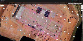 3DR Site Scan overlay CAD BIM data