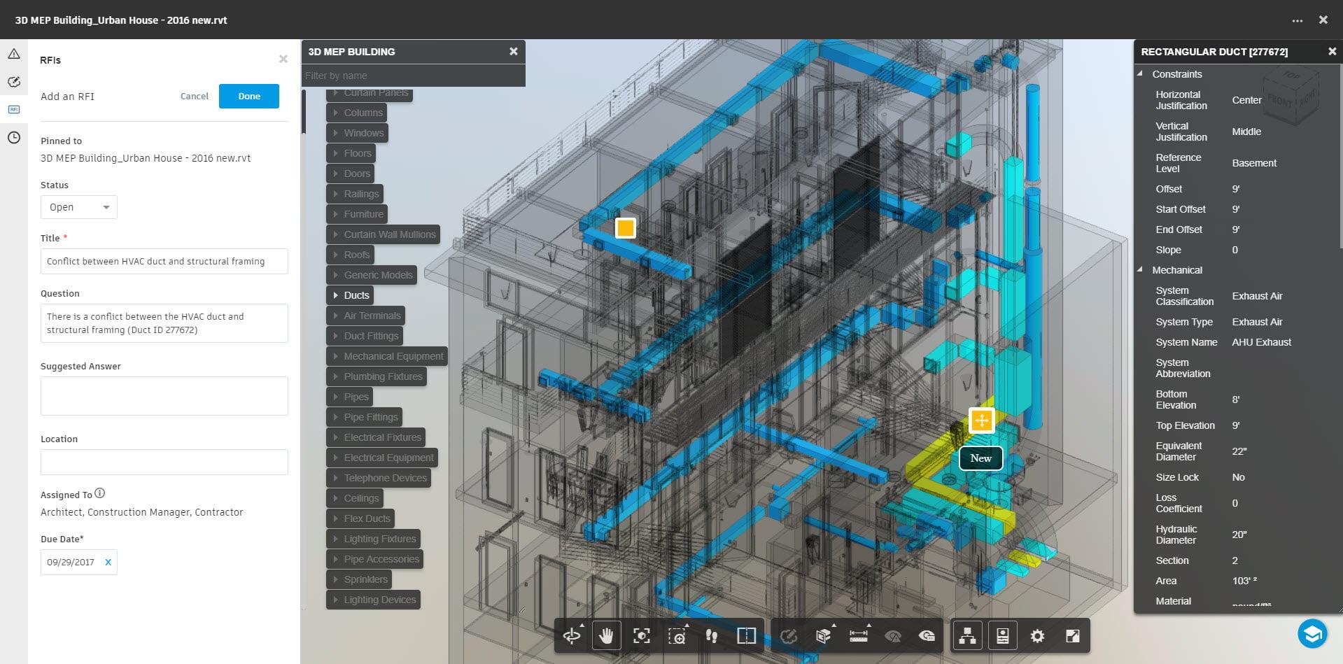 Autodesk BIM 360 Docs RFI