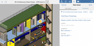 BIM 360 Docs model section issue