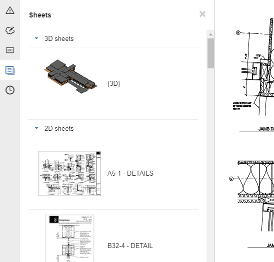 BIM 360 Docs multi-sheet